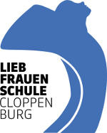 Das Mantelkind im aktuellen Logo der Liebfrauenschule
